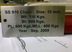 Machine Plates